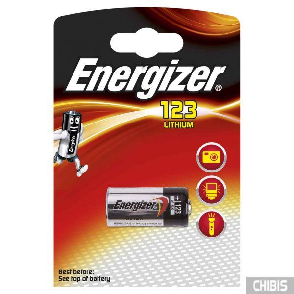 Батарейка 123 Energizer Lithium