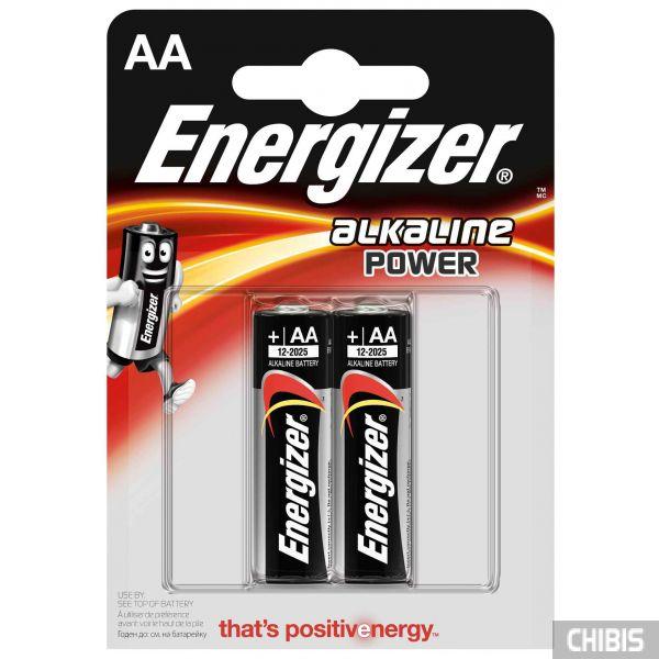 Батарейка АА Energizer Alkaline Power 2шт.