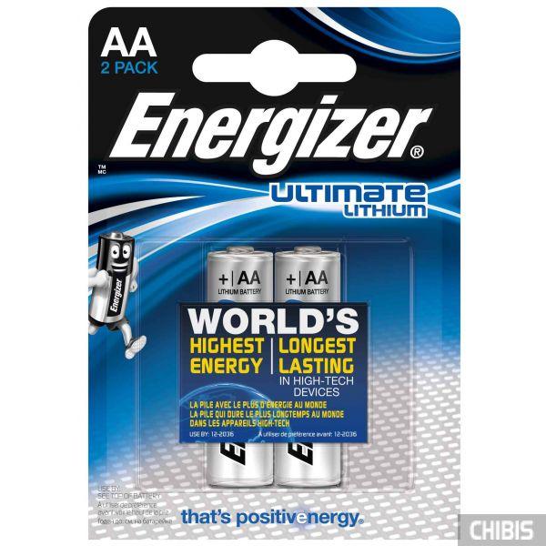 Батарейки Energizer AA Ultimate Lithium 2 шт.