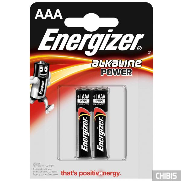 Батарейка ААА Energizer Alkaline Power 2 шт.
