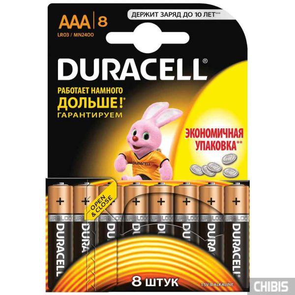 Батарейка Duracell AAA Basic 8 шт.
