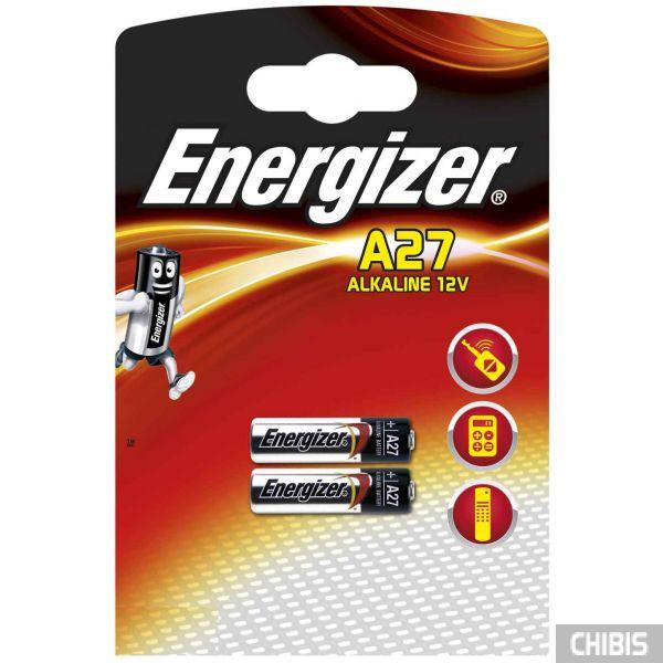 Батарейка Energizer A27 Alkaline 2 шт.