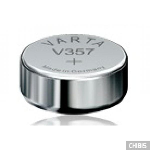 Батарейка Varta V357 (SR44, 155mAh, 1.55V, Оксид Серебра) 003571011111