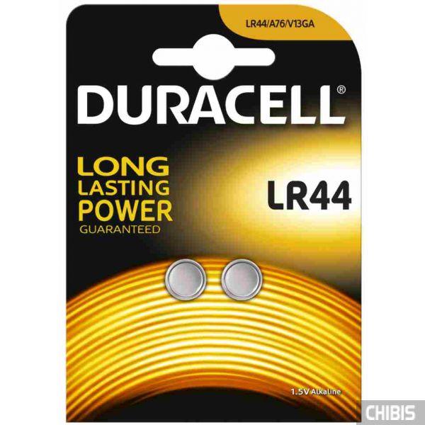 Батарейка LR44 Duracell A76 / V13GA Alkaline 1/5V 1/2 шт.