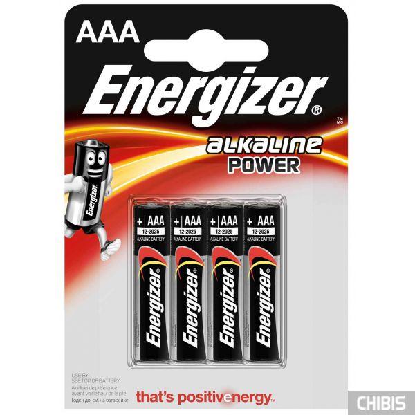 Батарейка ААА Energizer Alkaline Power 4 шт.