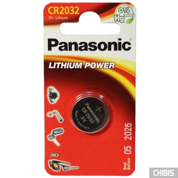 Батарейка 2032 Panasonic 1 шт.