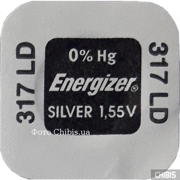 Батарейка 317 Energizer 1.55V Silver