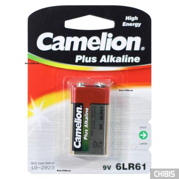 Батарейка Крона Camelion 6LR61 Alkaline 9V 1 шт.
