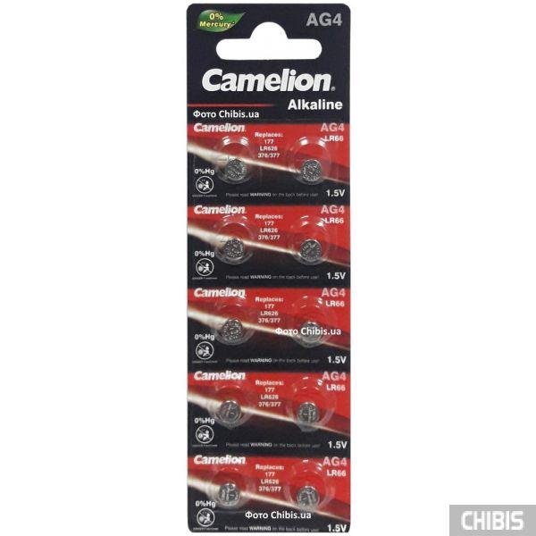 Батарейка AG4 Camelion LR626 1.5 V Alkaline 10 шт.