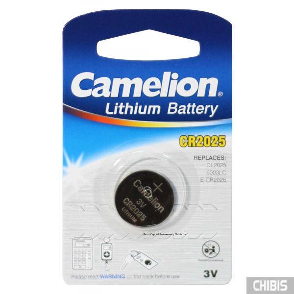 Батарейка Camelion CR 2025 lithium 3V