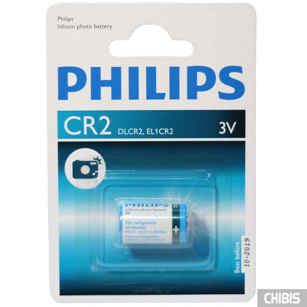 Батарейка CR2 Philips Lithium 3V