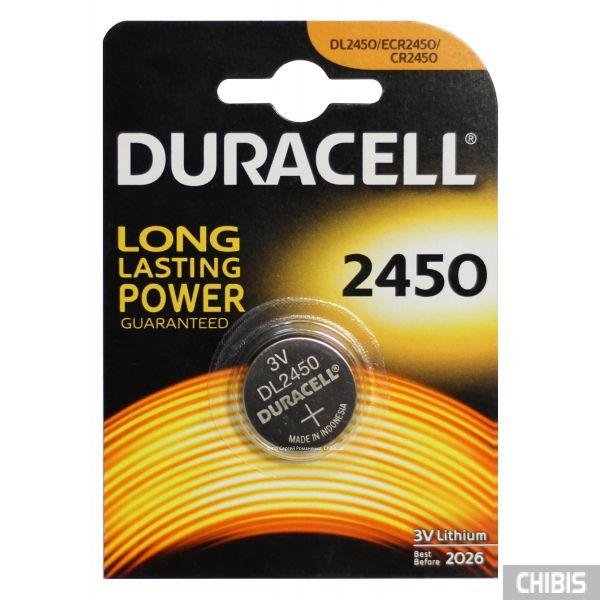 Батарейка 2450 Duracell 1 шт
