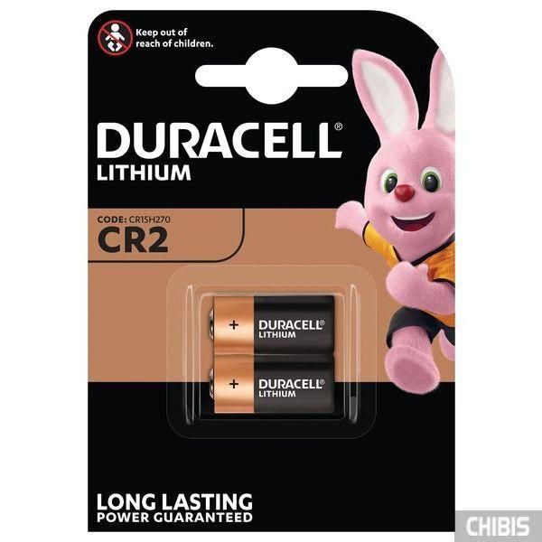 Батарейка CR2 Duracell Ultra 3V Lithium 2 шт.