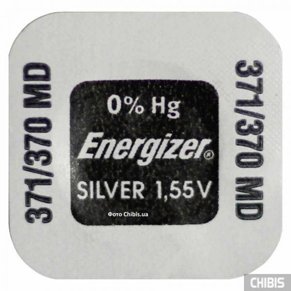 Батарейка 371-370 (SR69, SR920) Energizer 1.55V Silver Oxide