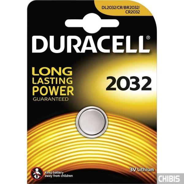 Батарейка CR2032 Duracell 3V Lithium 1 шт.