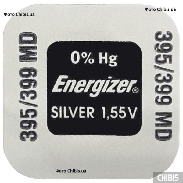 Батарейка SR927W / 395 / 399 Energizer 1.55V Silver Oxide 1 шт.