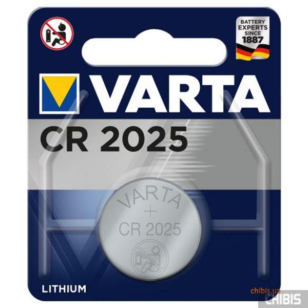 Батарейка Varta CR2025 Professional Electronics