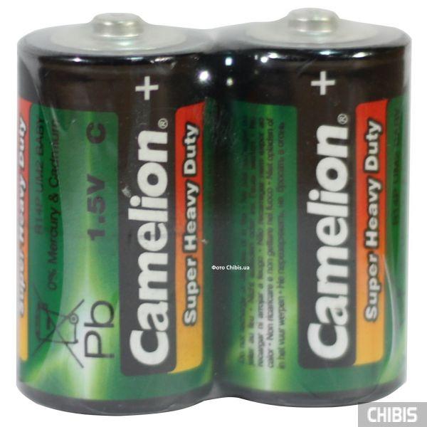 Батарейка R14 Camelion C 1.5V марганцево-цинковая пленка 1/2 шт