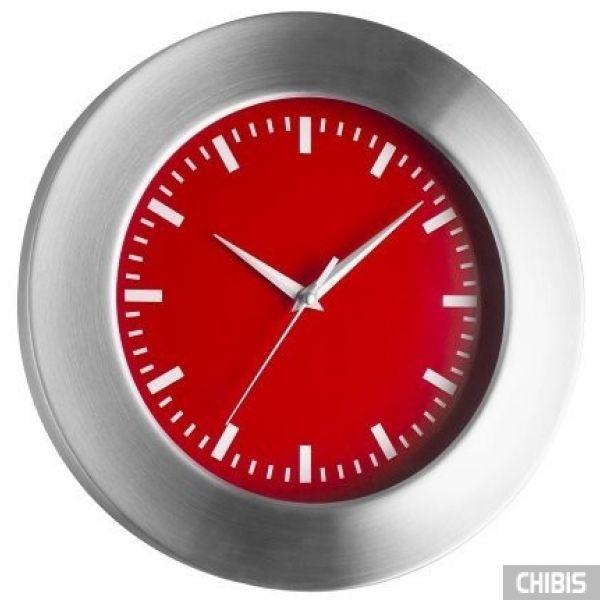 Часы настенные TFA (98104805) красный циферблат