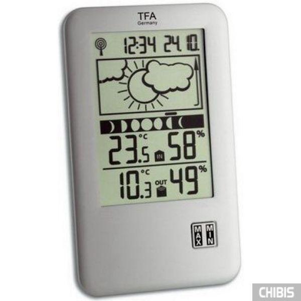 """Метеостанция TFA """"Neo Plus"""" (351109.IT) 158x95x21 мм"""