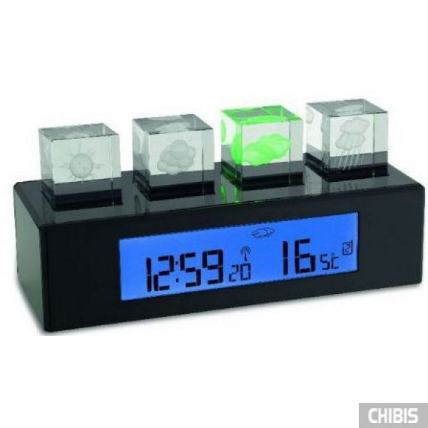 "Метеостанция TFA ""Crystal Cube"" (351110) 78x180x69 мм"