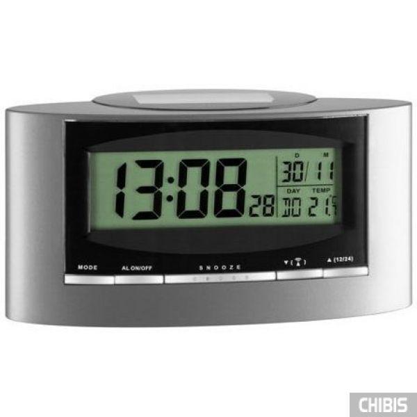 """Настольные часы TFA """"Solar"""" (981071) 156х78х52 мм"""