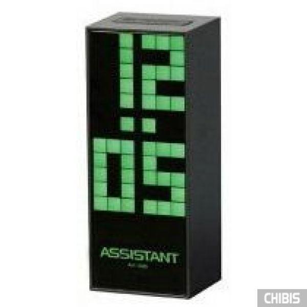 Настольные часы Assistant AH-1084 green