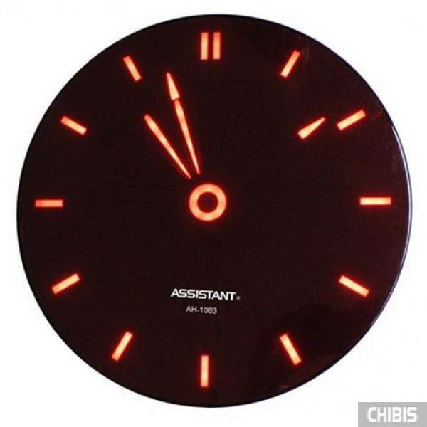 Часы настенные Assistant AH-1083 red