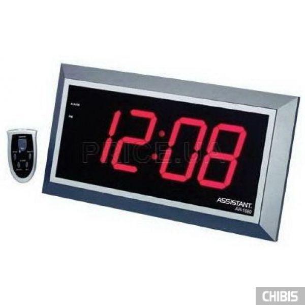 Часы настенные Assistant AH-1080 red