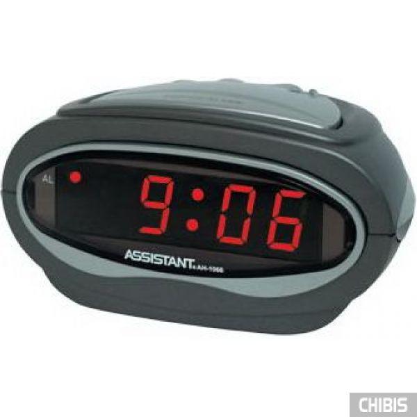 Настольные часы Assistant AH-1066 red