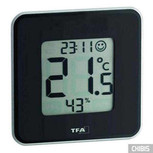 """Термогигрометр TFA """"Style"""" (30502101) чёрная"""
