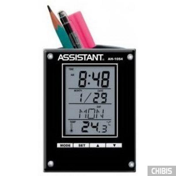 Настольные часы Assistant AH-1054 black