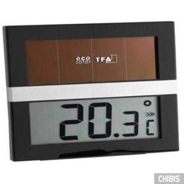 """Термометр TFA """"ECO Solar"""" (301037)  работает от солнечных батарей"""