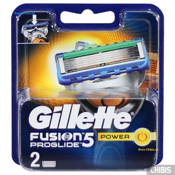 Gillette Fusion ProGlide Power лезвия для станка 2 шт 7702018085927