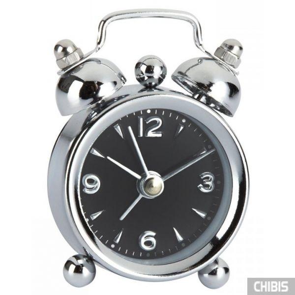 """Настольные часы TFA """"Mini-Nostalgia"""" (60100001) чёрный циферблат"""