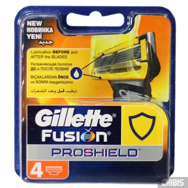 Картриджи для бритвы Gillette Fusion ProShield 4 шт