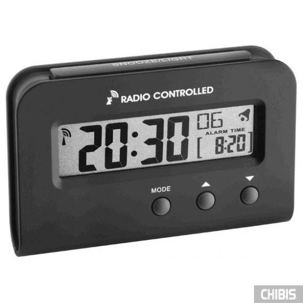 Настольные часы TFA (60251301) чёрный