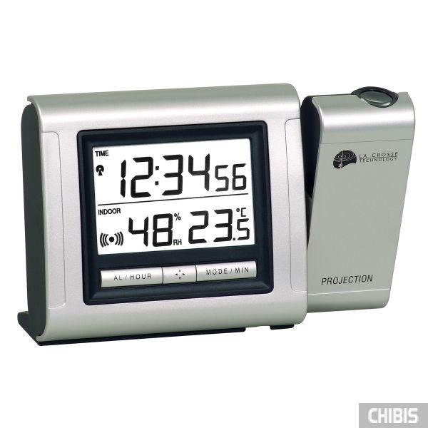 Настольные часы LA CROSSE WT5110SIL-SIL