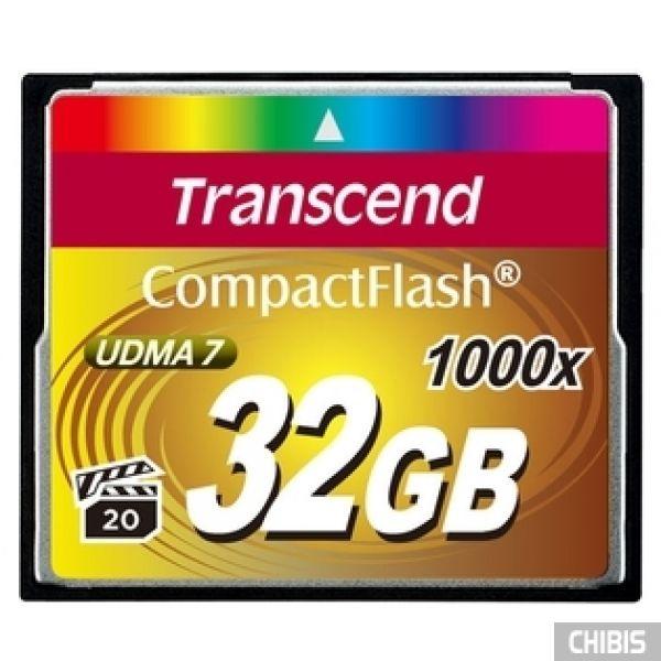 Карта памяти Transcend Compact Flash 1000x 32Gb
