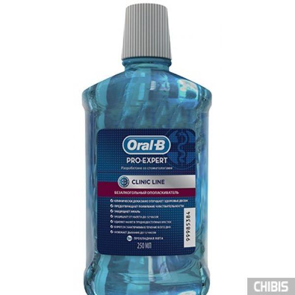 Ополаскиватель Oral-B Pro-Expert Clinic Line 250мл 5410076600649
