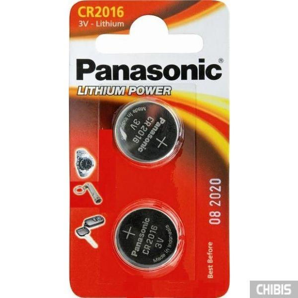 Батарейка Panasonic CR-2016EL/2B 2 шт