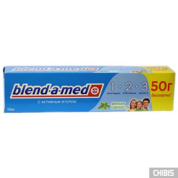 Зубная паста Blend-a-med 1 2 3 Мягкая Свежесть 150 мл