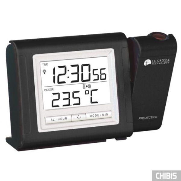 Настольные часы LA CROSSE WT5160BLA-SIL