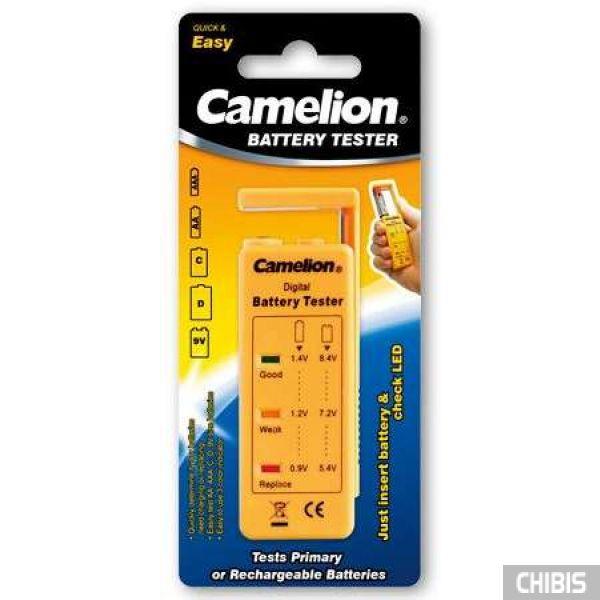 Тестер для батареек и аккумуляторов Camelion BT-0503