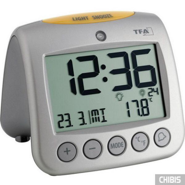 """Настольные часы TFA """"Sonio"""" (602514), 95x110x97мм"""
