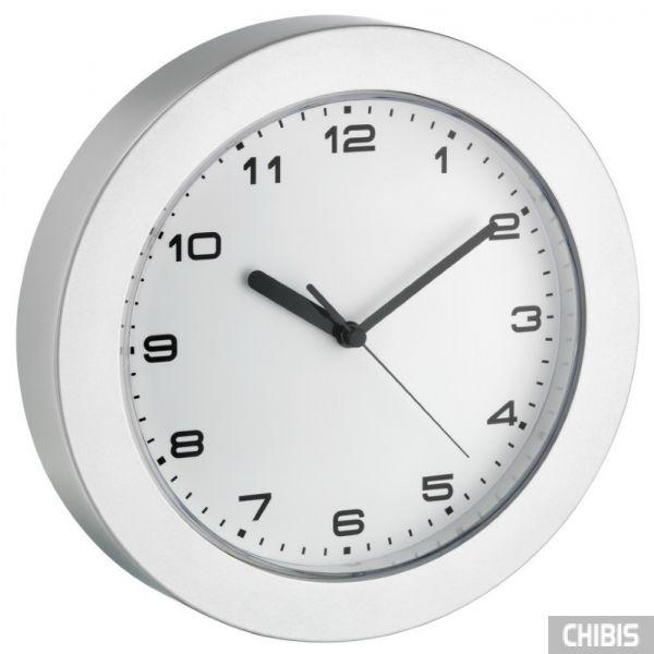 Часы настенные TFA 60302254 серебристые