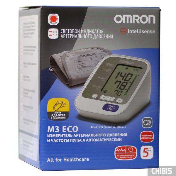 Тонометр Omron M3 Eco 7131 ARU c адаптером 220В
