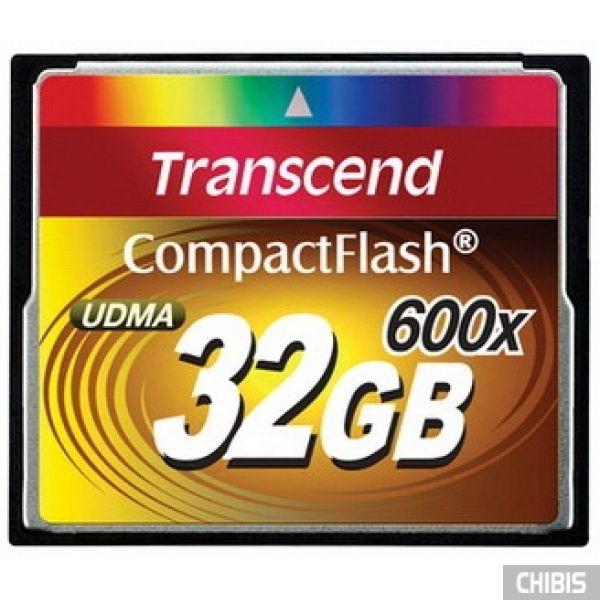 Карта памяти Transcend Compact Flash 600x 32Gb