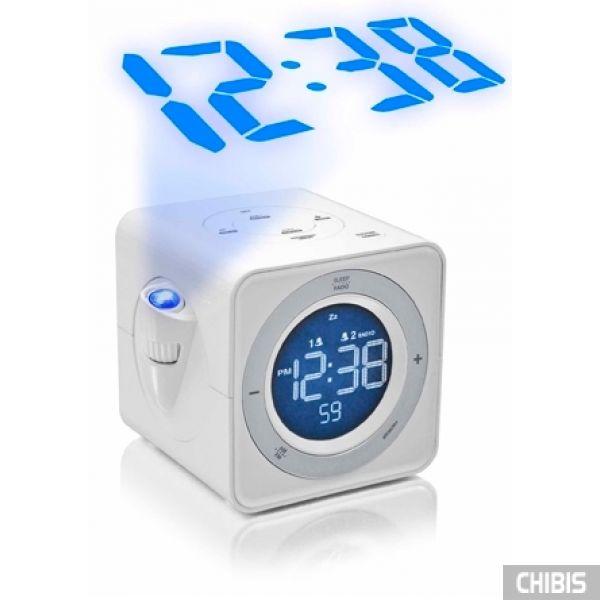 Настольные часы LA CROSSE WT480-WHI