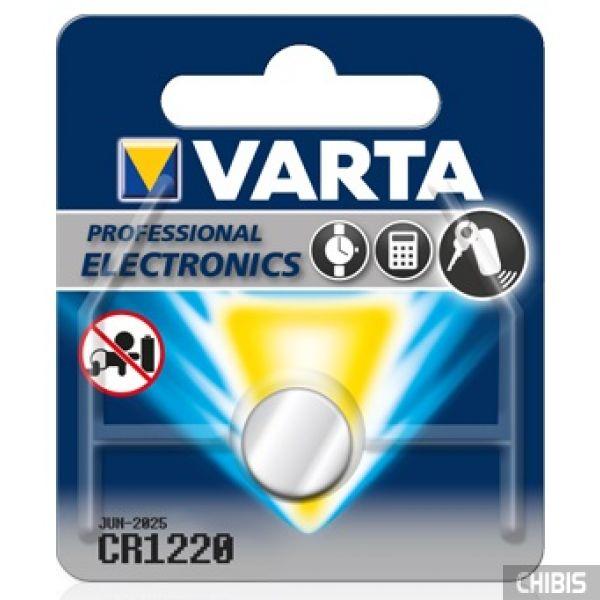 Батарейка CR1220 Varta 3V Литиевая 1 шт.